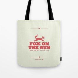 Fox on the Run Tote Bag