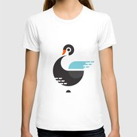 black swan T-shirts featuring Black Swan by ruudheijden