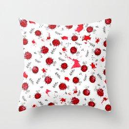 Little Ladybird | Inkies Pattern Collection Throw Pillow