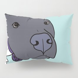 Faith The Resilient Pit Bull Pillow Sham
