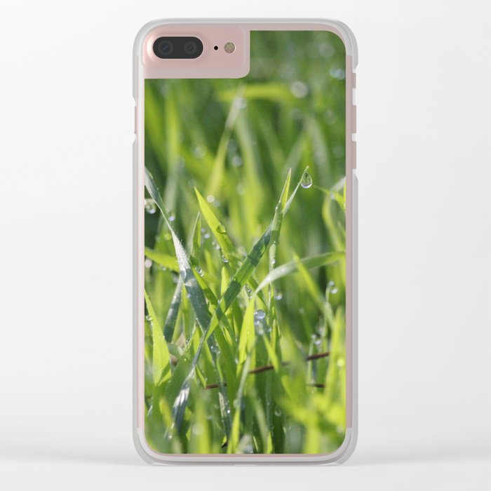 Tears From Heaven Clear iPhone Case