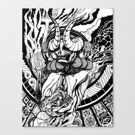 Mother Marrow Canvas Print