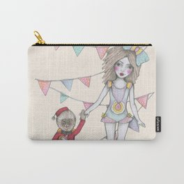 Circus girl Carry-All Pouch