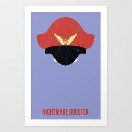 Bison - Nightmare Booster Art Print