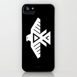 Thunderbird flag - HQ file Inverse iPhone Case
