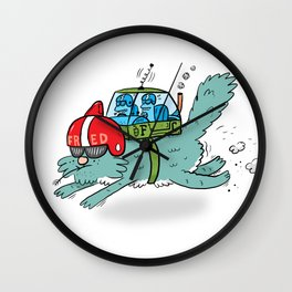 Speed Fred! (Special Edition) Wall Clock
