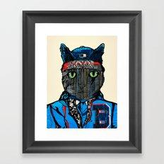 THAI CAT - SCREEN PRINT EDITION  Framed Art Print