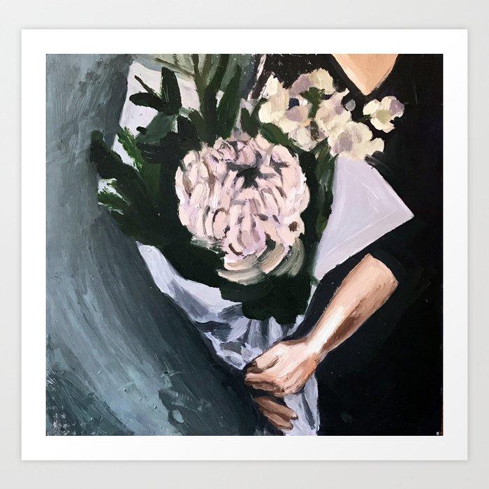 Flower Market Kunstdrucke