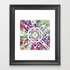 Introspective Reflection Framed Art Print