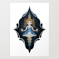 starry night Art Prints featuring Starry by NuriaDrella