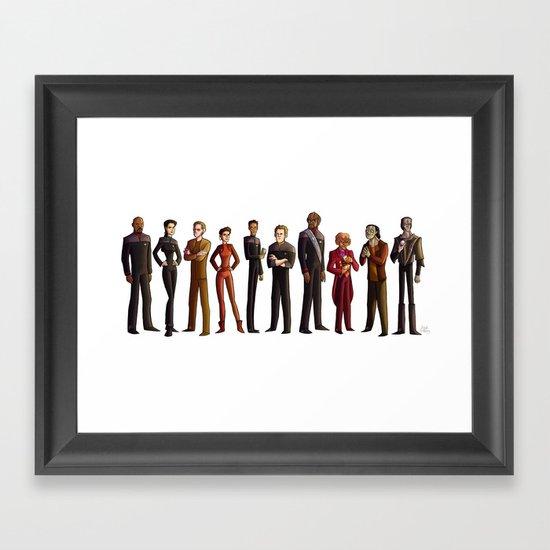 Star Trek: Deep Space Nine Framed Art Print