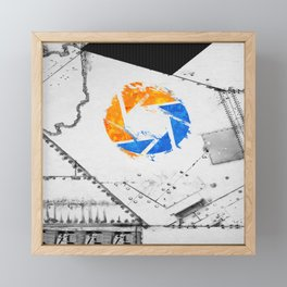 Aperture Vandal Framed Mini Art Print