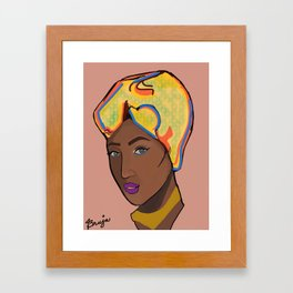 Cubana Framed Art Print