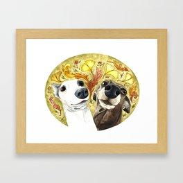 Italian Goofballs Framed Art Print
