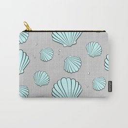 Sea shell jewel pattern Carry-All Pouch