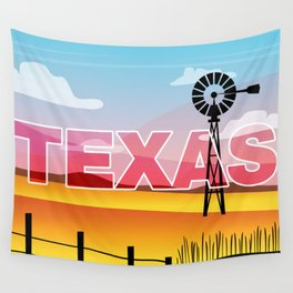 Texas Plains Wall Tapestry