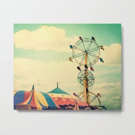 Get your ticket to ride. Metal Print