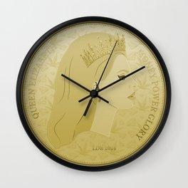 Money Power Glory Wall Clock