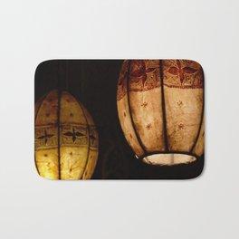 Talulla's lanterns Bath Mat