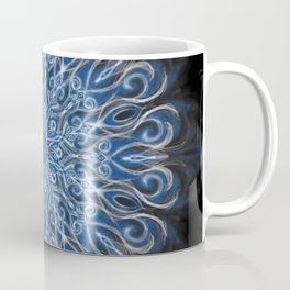 Blue and black Center Swirl Coffee Mug