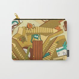 Monsters on Stairs Carry-All Pouch