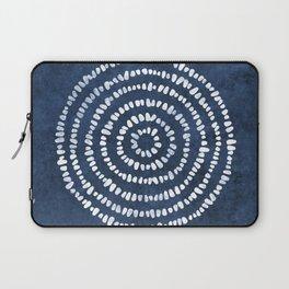 Yoga Stones in Navy Blue Laptop Sleeve