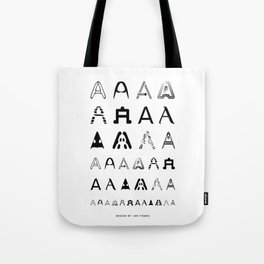 A is the first letter Tote Bag