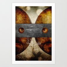 the loop closes Art Print