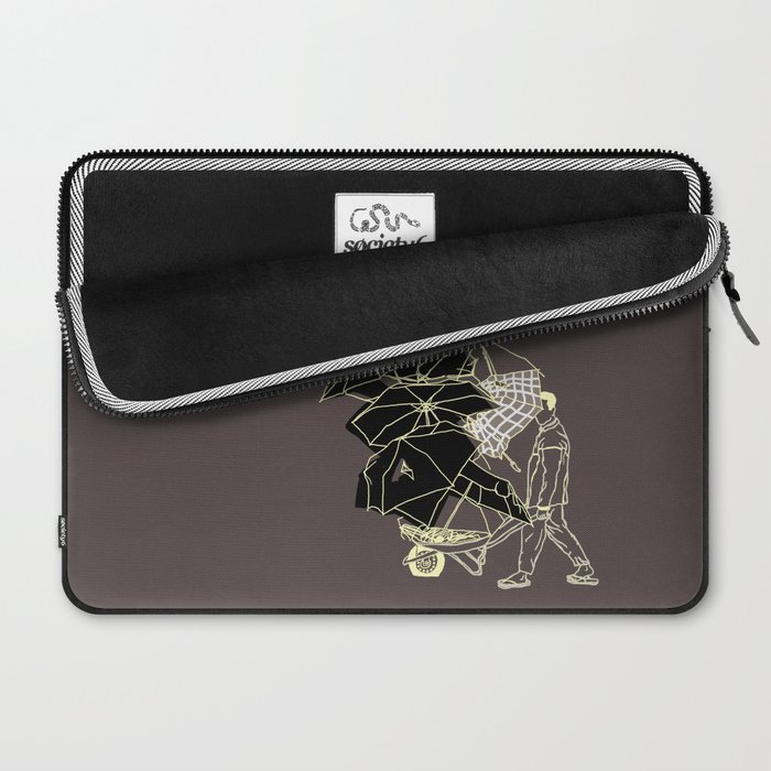 No couro! Laptop Sleeve