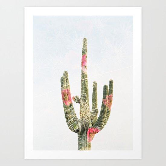 Double Exposure Cactus by lynettebenham