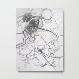 space barbarian Metal Print