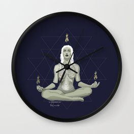 Meditations Wall Clock