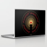 the lord of the rings Laptop & iPad Skins featuring The Lord of the Rings by Ian Wilding
