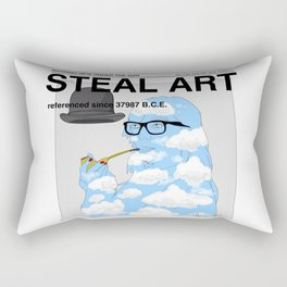 STEAL ART Rectangular Pillow