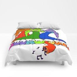 Shroooooms Comforters
