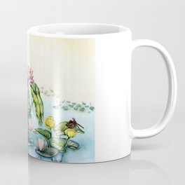 Japanese Water Lilies and Lotus Flowers Coffee Mug