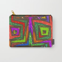 Let's Abstract Carry-All Pouch