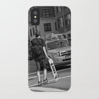 skate iPhone & iPod Cases featuring Skate by RaviusKiedn