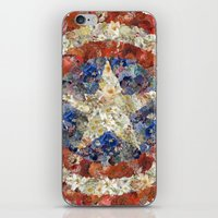 steve rogers iPhone & iPod Skins featuring Steve Rogers' Garden by Joan-of-here