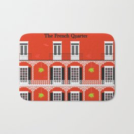 The French Quarter  New Orleans Bath Mat