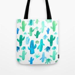 Live Simply Cactus Tote Bag