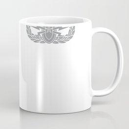 EOD American Flag Hoodie - Memorial Day July 4th SEE BACK Coffee Mug