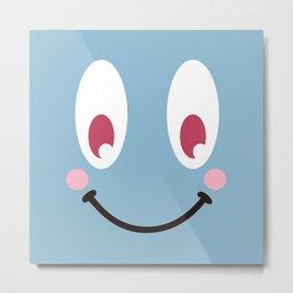 Be happy!! Metal Print