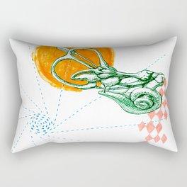 Ear Labyrinth Rectangular Pillow