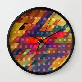 urban light flash Wall Clock