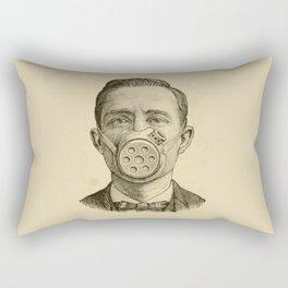 Masked man. Rectangular Pillow