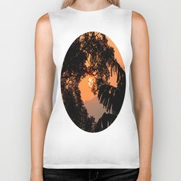 Creamsicle Moonlight Biker Tank