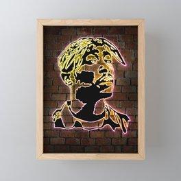 All eyes on me Framed Mini Art Print