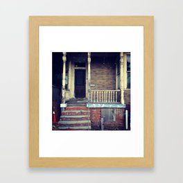 San Diego Stoop Framed Art Print