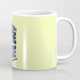 Tardis. it's bigger on the inside Coffee Mug